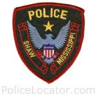 Shaw Police Department Patch