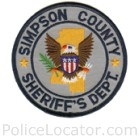 Simpson County Sheriff's Office Patch