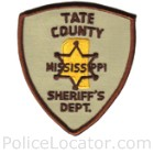 Tate County Sheriff's Office Patch