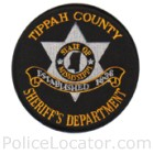 Tippah County Sheriff's Office Patch