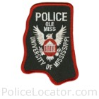 University of Mississippi Police Department Patch