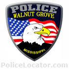 Walnut Grove Police Department Patch