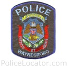 Waynesboro Police Department Patch