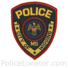 Wiggins Police Department Patch
