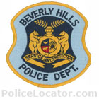 Beverly Hills Police Department Patch