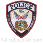 Bloomfield Police Department Patch