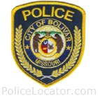 Bolivar Police Department Patch