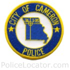 Cameron Police Department Patch
