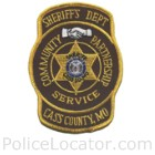 Cass County Sheriff's Office Patch