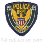 Clarence Police Department Patch