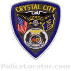 Crystal City Police Department Patch