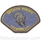 DeSoto Police Department Patch
