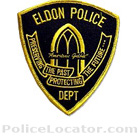 Eldon Police Department Patch