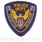 Fayette Police Department Patch