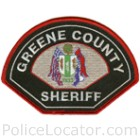 Greene County Sheriff's Office Patch