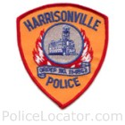 Harrisonville Police Department Patch