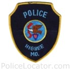 Higbee Police Department Patch