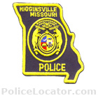 Higginsville Police Department Patch