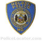 Holden Police Department Patch