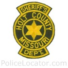 Holt County Sheriff's Office Patch