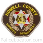 Howell County Sheriff's Office Patch