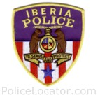 Iberia Police Department Patch
