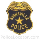 Kirksville Police Department Patch
