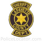 Lafayette County Sheriff's Department Patch