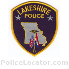 Lakeshire Police Department Patch
