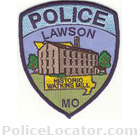 Lawson Police Department Patch
