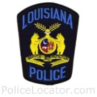 Louisiana Police Department Patch