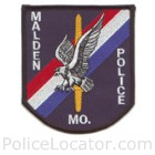Malden Police Department Patch