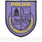 Marshall Police Department Patch