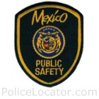 Mexico Police Department Patch