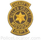 Miller County Sheriff's Office Patch