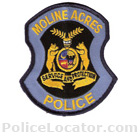 Moline Acres Police Department Patch