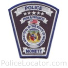 Monett Police Department Patch