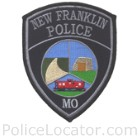 New Franklin Police Department Patch