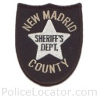 New Madrid County Sheriff's Office Patch
