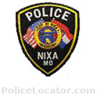 Nixa Police Department Patch