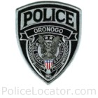 Oronogo Police Department Patch