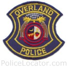 Overland Police Department Patch