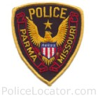 Parma Police Department Patch