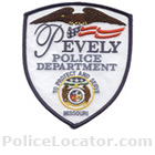 Pevely Police Department Patch