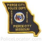 Pierce City Police Department Patch