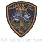 Pleasant Hill Police Department Patch