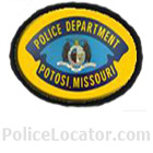 Potosi Police Department Patch