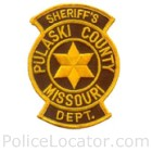 Pulaski County Sheriff's Department Patch