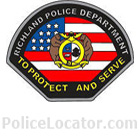 Richland Police Department Patch