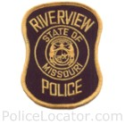 Riverview Police Department Patch